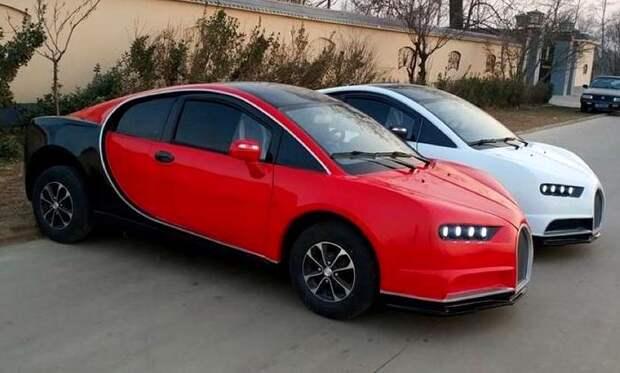 5 китайских клонов известных автомобилей, внешний вид которых порой отпугивает