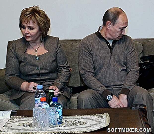 Путин-с-женой-450x392