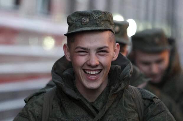 В русской армии