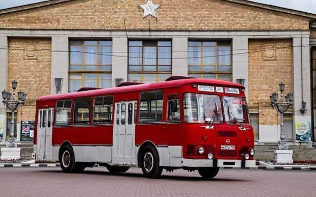 ЛиАЗ-677 СССР, авто, автомобили, азлк, ваз, газ, лиаз, советские автомобили