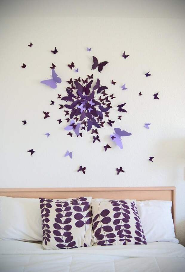 Бабочки для декора (75 фото)