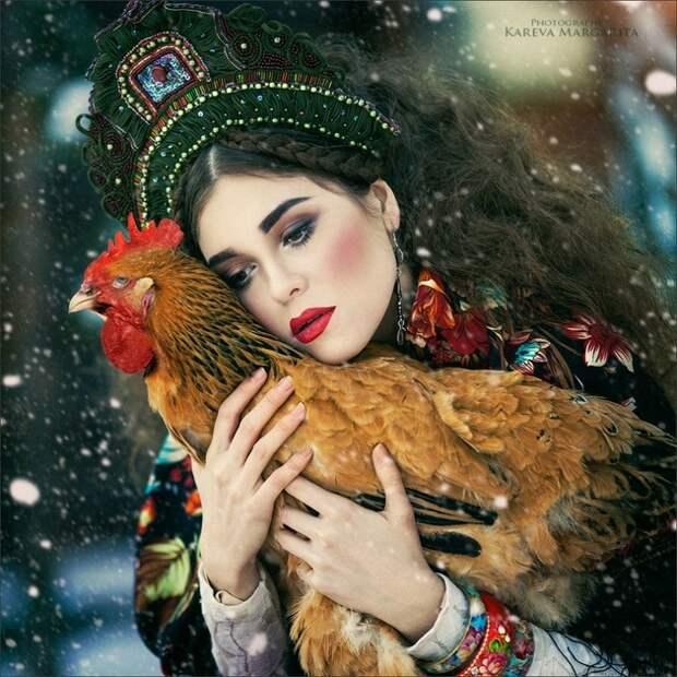Сказочные работы Маргариты Каревой