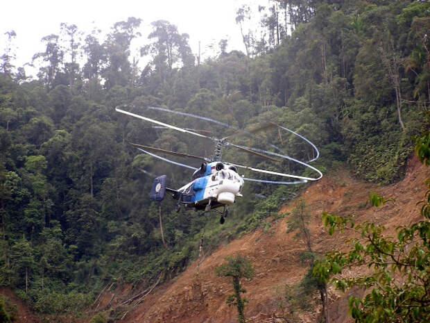 Ка-32А11ВС пришел на помощь Индонезии - интервью с командиром экипажа вертолета