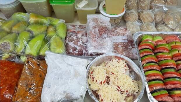 Заготовка еды. Заготовка и заморозка полуфабрикатов из мяса и курицы
