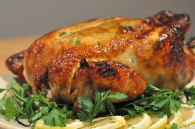 Учимся готовить курицу в рукаве в духовке