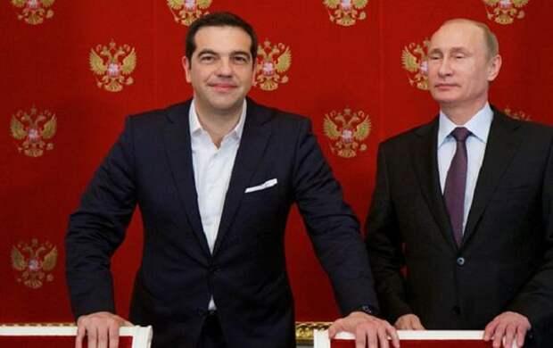 """Financial Times: Дефолт Греции может стать """"геополитическим подарком"""" для России"""