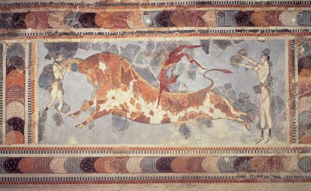 4 / 10 Минойская цивилизация 3000-630 до н.э. Крит Минойская цивилизации была обнаружена только в начале 20-го века. Легендарные дворцы Кносса, центр легенды о царе Миносе — их рук дело. Считается, что минойцы были уничтожены в результате извержения вулкана на острове Фера. Минойская цивилизация является одной из самых больших потерянных цивилизаций, которые существовали когда-либо. Минойская цивилизация  3000-630 до н.э. Крит Минойская цивилизации была обнаружена только в начале 20-го века. Легендарные дворцы Кносса, центр легенды о царе Миносе — их рук дело. Считается, что минойцы были уничтожены в результате извержения вулкана на острове Фера. Минойская цивилизация является одной из самых больших потерянных цивилизаций, которые существовали когда-либо. Читать на Don't Panic: http://dnpmag.com/2016/02/09/10-misticheski-ischeznuvshix-civilizacij/