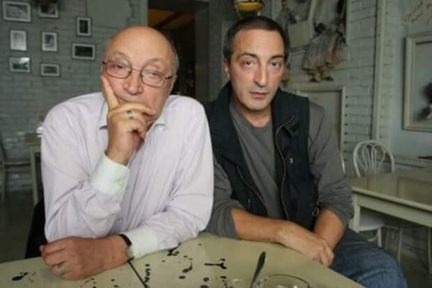 Михаил Козаков с сыном Кириллом | Фото: starhit.ru