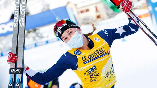 Американская лыжница Диггинс выиграла гонку с раздельным стартом в Фалуне, Ступак — 11-я