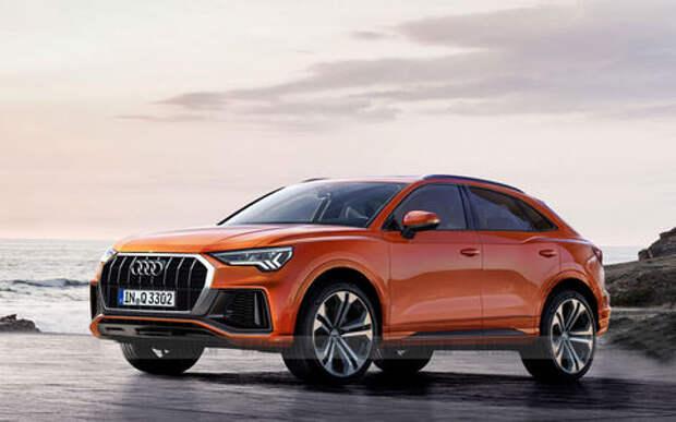 Премьера первого кросс-купе от Audi назначена на июль