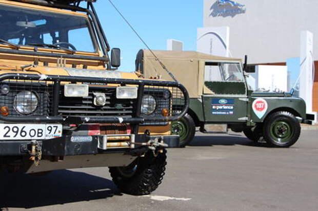 Я - легенда: как в Подмосковье прошли проводы Land Rover Defender