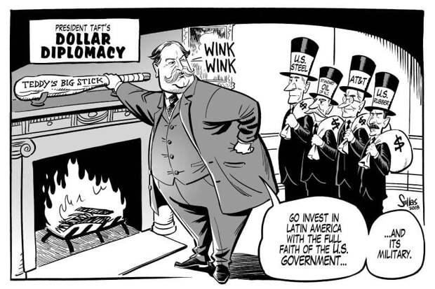 «Долларовая дипломатия» как попытка установления региональной гегемонии США