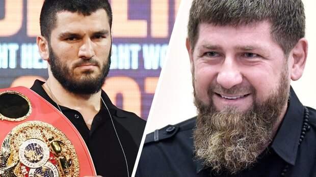 «Молимся заАртура изнаем, что оннепобедим». Кадыров поддержал Бетербиева перед боем сГвоздиком