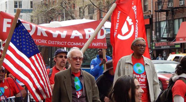 Коммунистический рупор хочет вещать на запад: в КПРФ выразили солидарность с мародерами из США