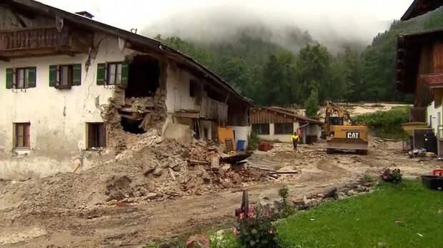 Германия. Число жертв потопа можно было сократить: не сработало оповещение