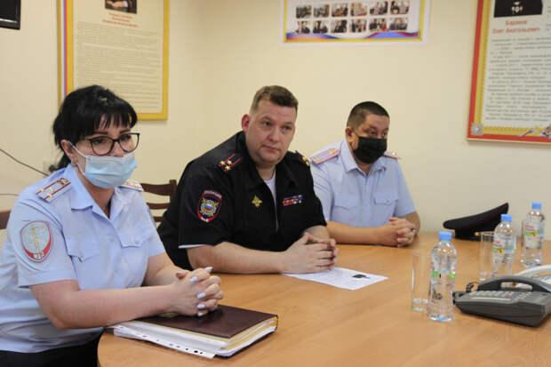 В Бутырском отделе МВД России назначен новый руководитель