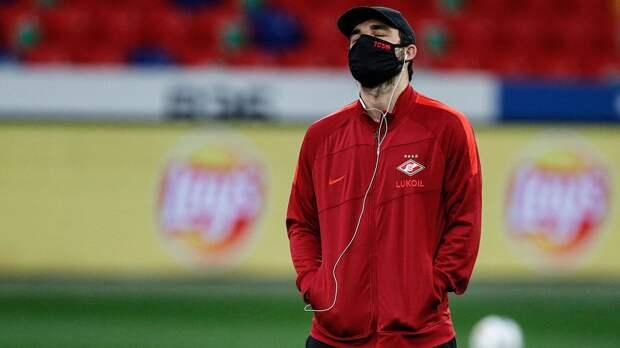 «Спартак» объявил состав на матч с «Арсеналом». Селихов — в старте, Джикия — в запасе