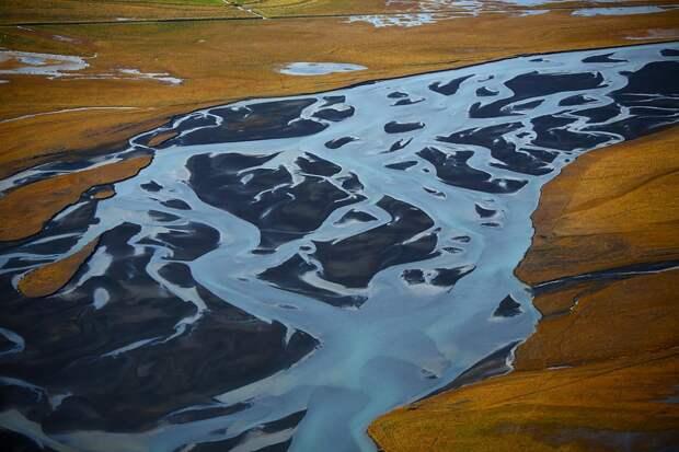 Цветные реки Исландии: 30 нечеловечески прекрасных фото