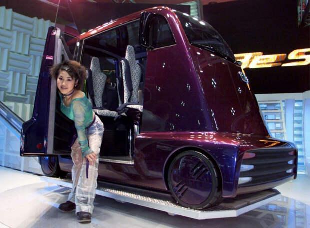 Honda Fuya-Jo автодизайн, странные автомобили