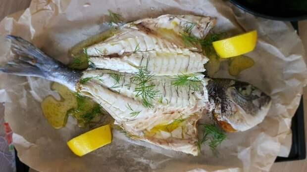 Сочная рыба в духовке за 15 минут