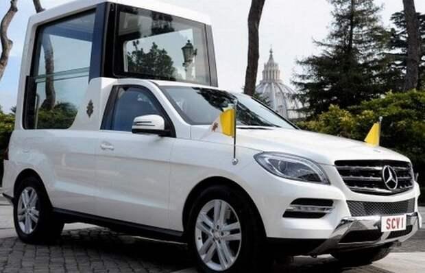 4. Mercedes-Benz M-Class лимузин, правительственный автомобиль