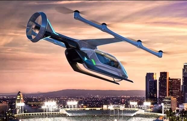 Аэромобиль скоро станет в Японии коммерческим транспортом