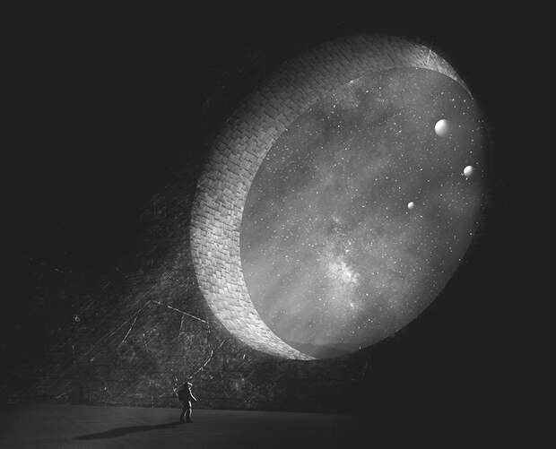 Изучение космоса и понятия времени и пространства с помощью работ Ника Стата