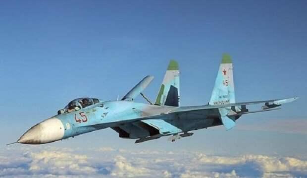 Над Черным морем был перехвачен украинский самолет