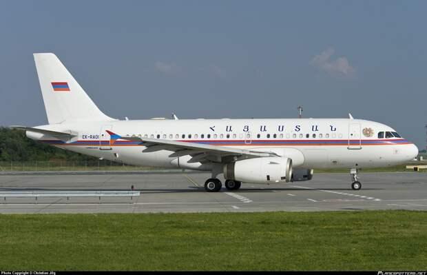 Армения. Борт номер один, президенты, самолёты