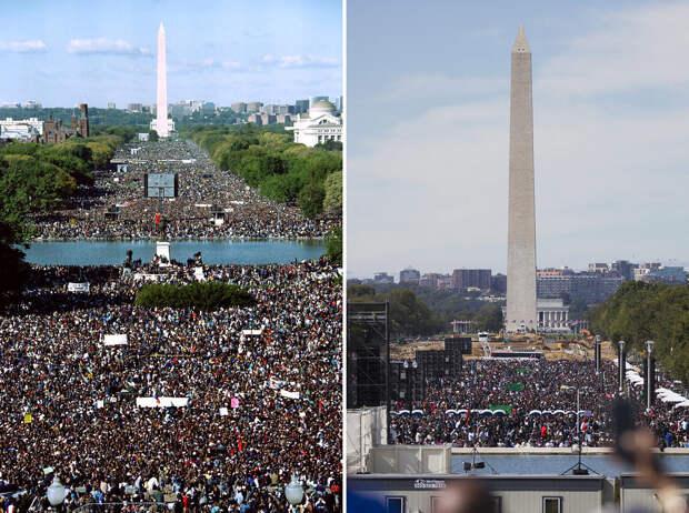 Марш черных в Вашингтоне