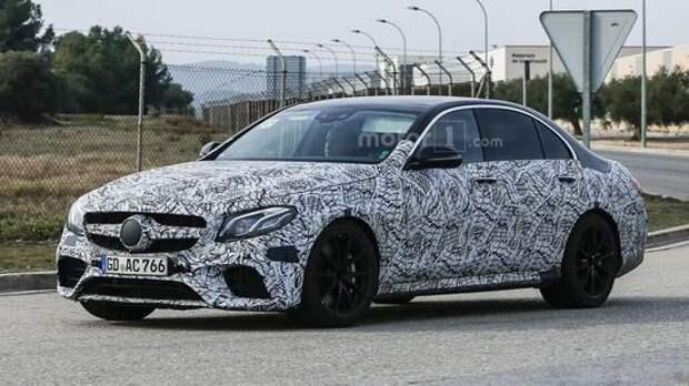 Mercedes-AMG E 63 раскрыл свою тайну
