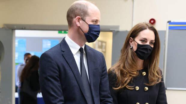 Принц Уильям и Кейт Миддлтон впервые вышли в свет после похорон принца Филиппа