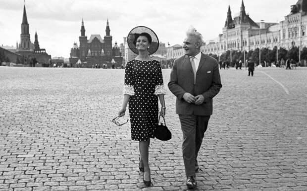 Марлен Дитрих, Арнольд Шварценеггер идругие иностранные звезды, посещавшие СССР