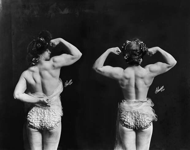 Женщина с мускулами. 1905г.