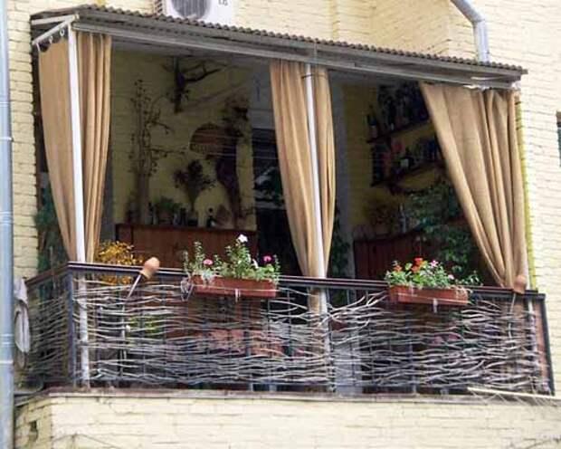 7 креативных идей, как обустроить балкон или лоджию