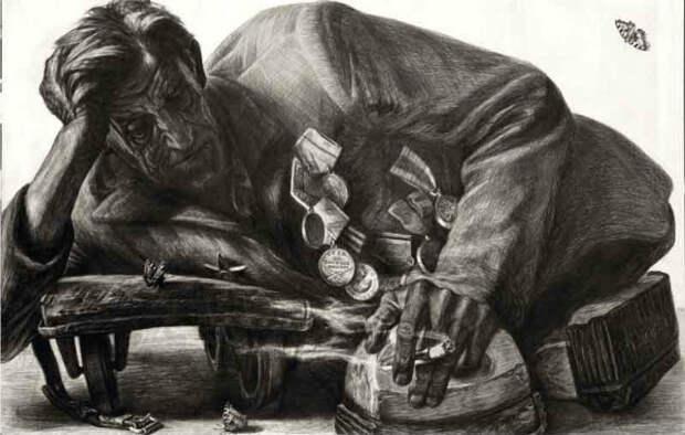 Автографы войны. Портреты, от которых сжимается сердце