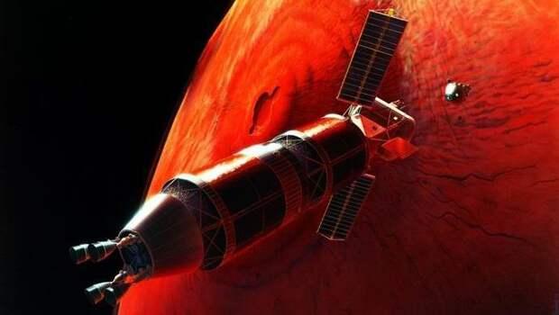 На Марс можно долететь за трое суток?