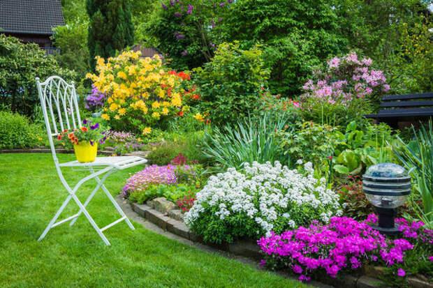 Нужная комбинация растений - это и есть главный секрет создания садового стиля