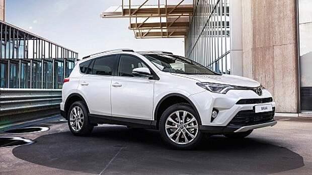 Обновленная Toyota RAV4