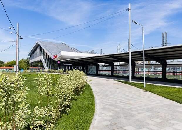 Станция Щукинская МЦД-2 открылась для пассажиров
