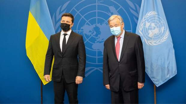 Нападки Зеленского на ООН сочли рискованными для Украины