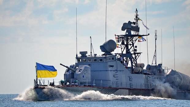 ВМС Украины отработали тактические учения у границ РФ в Черном море