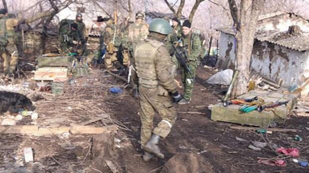 Ополченцы ДНР и ЛНР провели первую совместную операцию в Дебальцево