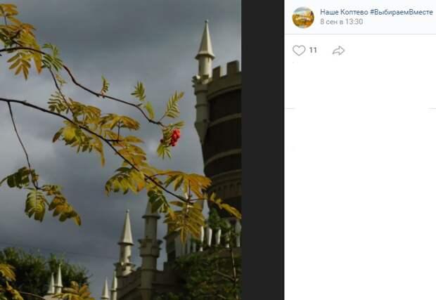 Фото дня: небо хмурится над «Бригантиной»