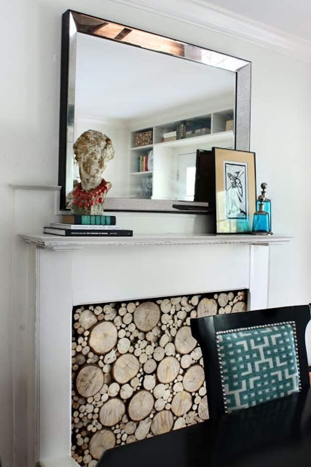 Фальшивый камин с настоящими дровами (Diy)