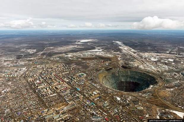Mirny town - the diamond capital of Russia, photo 1