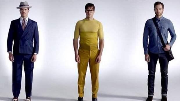 Американцы уместили в три минуты 100 лет мужской моды