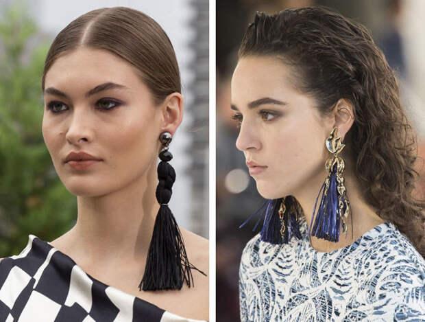 Микроочки, серьги-кисточки и поясная сумка: самые модные аксессуары сезона 2019