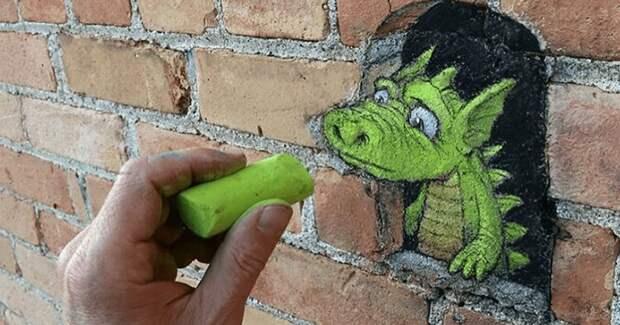 30 неведомых зверюшек на городских улицах от художника Дэвида Зинна