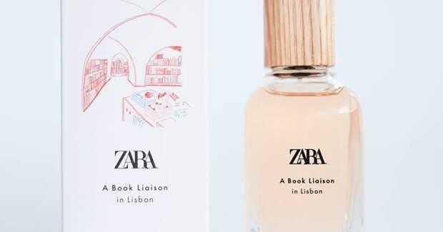 Zara создала парфюм с ароматом лиссабонского книжного магазина